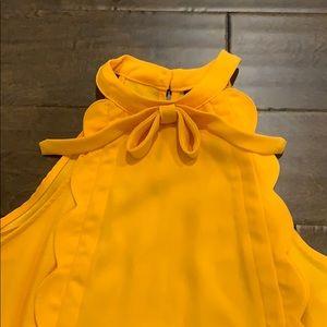 Victoria Beckham for Target Tops - Victoria Beckham for Target Mandarin ruffle blouse